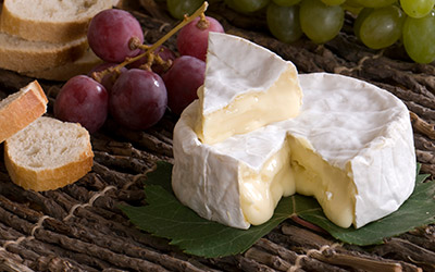 Camembert, a cheese from Normandy