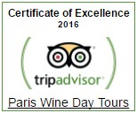 TripAdvisor 2016 Certificate of excellence 2016